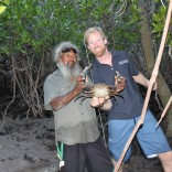 Gotcha! Mud Crabbing at Cape Leveque