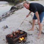 BBQ Mud Crab at Cape Leveque