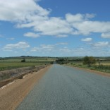 The open road in the West Australian Wheatbelt