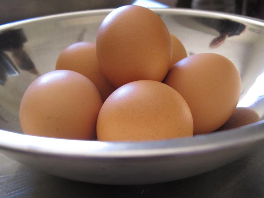 The eggy tasting eggs