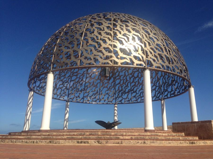 The HMAS Sydney Memorial in Geraldton
