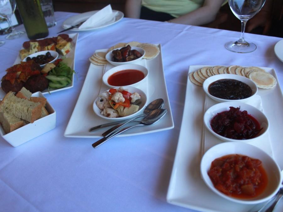 Vino foods at the Lake House