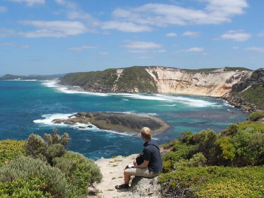 Magnificent views of the coastline